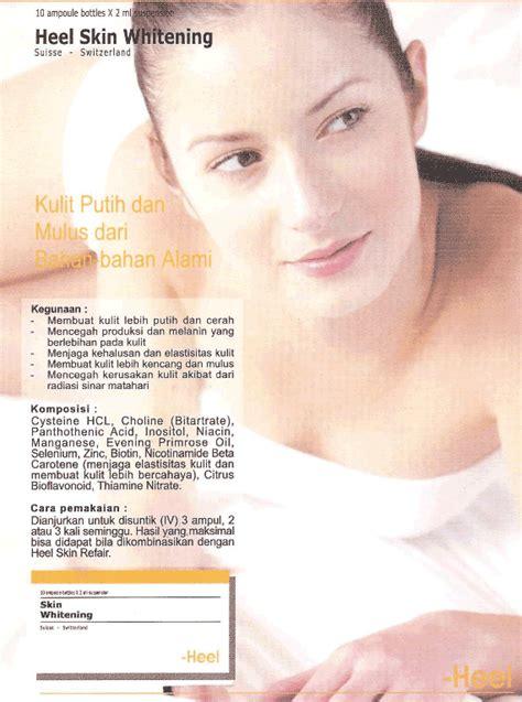 Suntik Injeksi Pemutih produk kecantikan produk kosmetik make up