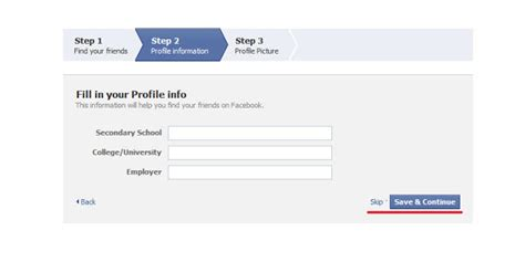 membuat facebook sekolah cara membuat facebook panduan dengan screenshots