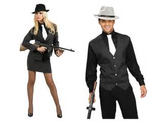 His And Hers Halloween Costumes His And Hers 1920s Gangster Costumes Costume Party Pinterest 1920s Gangsters Gangster
