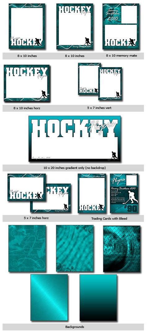 hockey card template photoshop free hockey options hockey hockey and photoshop