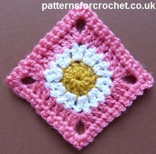 printable crochet instructions uk free crochet pattern for simple granny square http