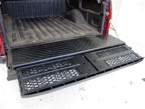 bed extender x treme gate truck bed extender for full size trucks slide out permanent mount x