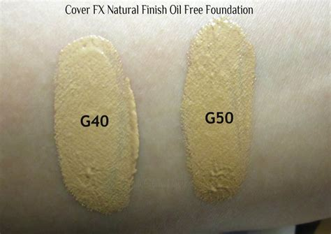 Pressed Mineral Foundation G50 gaudy glam review cover fx finish free