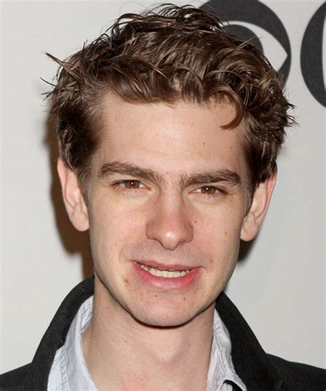 Andrew Garfield Short Straight Casual Hairstyle   Light
