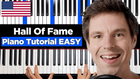 Tutorial Piano Hall Of Fame | hall of fame piano tutorial easy werdemusiker com