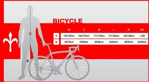 misura d bici geometrie telaio della bici corsa