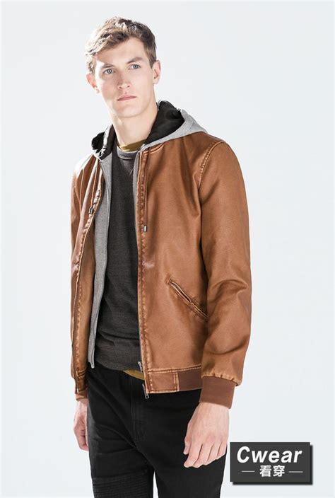 Hr Outwear Jaket Hoodie Since za 2014 fashion winter new coats camel brown grey 3
