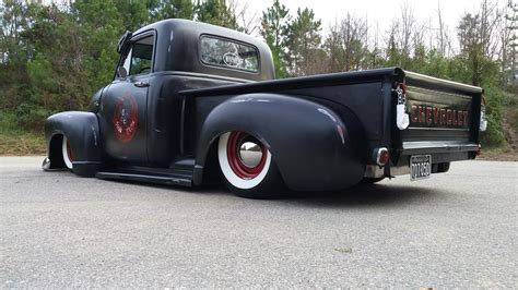truck car black chev chevy chevrolet advance design truck fauxtina