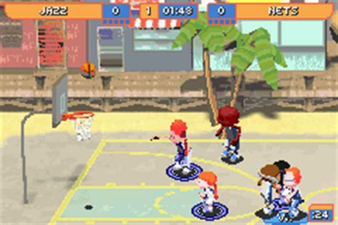 backyard basketball gba backyard basketball u chameleon rom