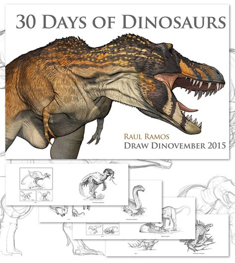 30 Days Of 30 days of dinosaurs by daitengu on deviantart
