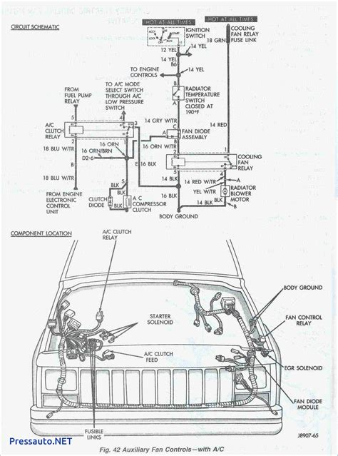 2001 jeep grand radio wiring diagram free