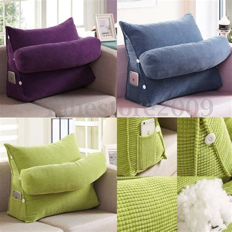 pillow back adjustable sofa bed chair office rest neck support back