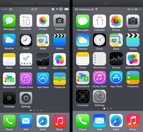 iphone icons designer comes up with better iphone app icons business insider