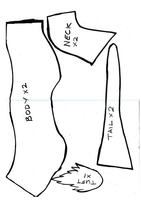 pattern parts net review haku plushie pattern part 1 by caranth on deviantart