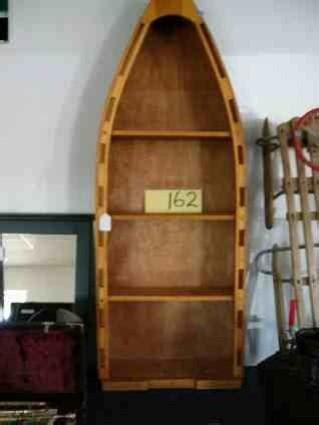 row boat shaped bookcase row boat shaped bookcase