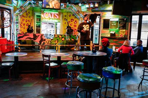 cats meow  orleans nightlife venue