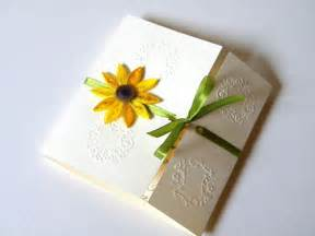 Wedding Invitations With Sunflowers
