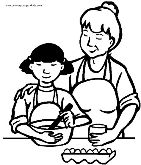 preschool coloring pages about families family color pages preschool coloring pages for free