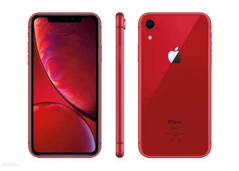 apple iphone xr 64gb czerwony ceny i opinie na ceneo pl