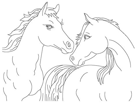 coloring pages of real horses realistic horse jumping coloring pages