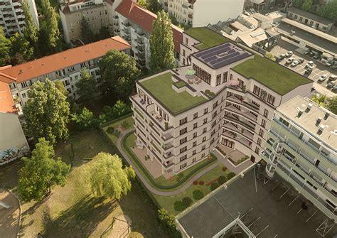 architekturvisualisierung berlin katharinenpalais vogelperspektive fotomontage 3d