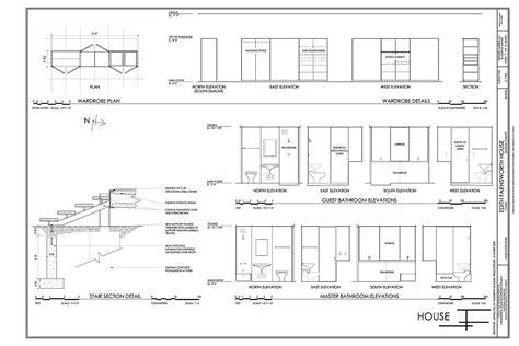 farnsworth house section farnsworth house section plan grosir baju surabaya