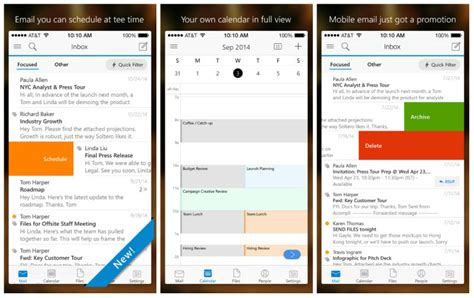 yahoo email won t update on iphone 6 microsoft outlook for ios and android looks like acompli