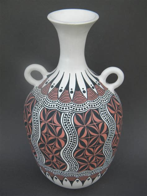 pot designs clay pot painting tribal designs www imgkid com the