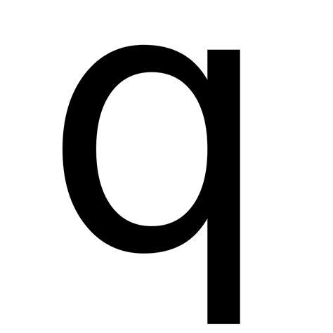 Letter Q q wiktionary