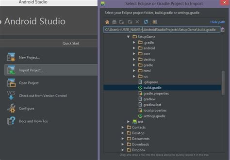 android studio delete project how to setup libgdx for android studio programming money