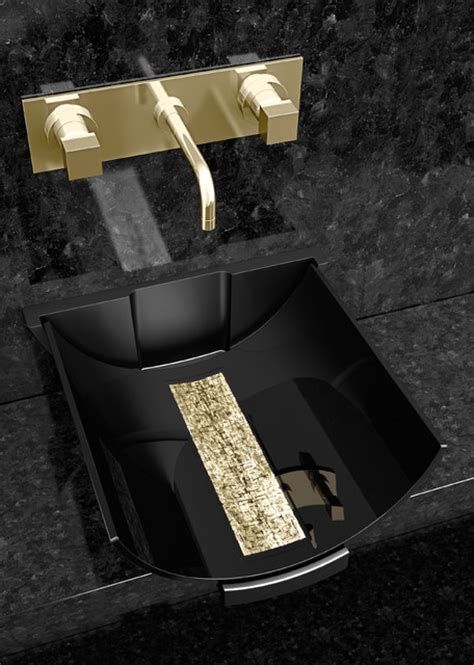 black gold bathroom calla black gold modern bathroom other by maestrobath