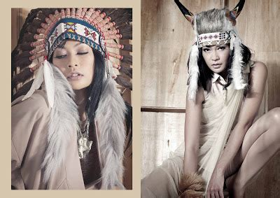Kartikasari Hers 3 four o three apache de navajo a fashion photography