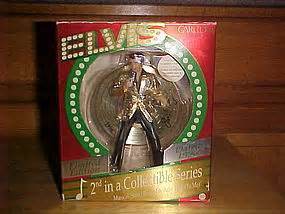 elvis presley christmas ornament by carlton cards item