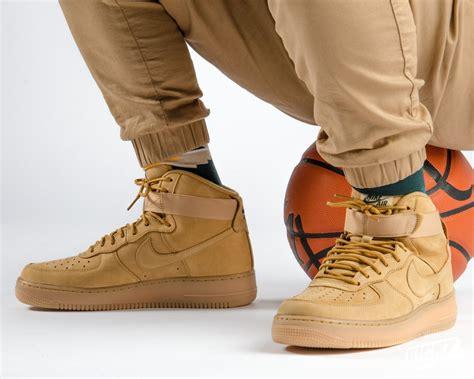 Nike 1 Mid Flax Premium Originalsepatu Nike One Brown nike air one flax nonkonform design de
