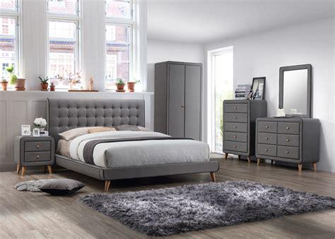 Wt 3284 2 Fabric Bedroom Furniture