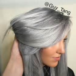 metallic hair color kenra color silver metallics on silver hair