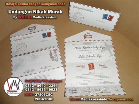 Undangan Pernikahan Kerendan Unik Fb undangan unik berbentuk dan tema air mail lop surat whatsapp 081286403244 website