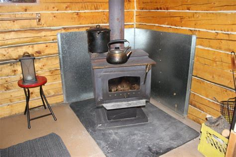 Wood Stove In Cabin by Inside Cove Cabin Stove