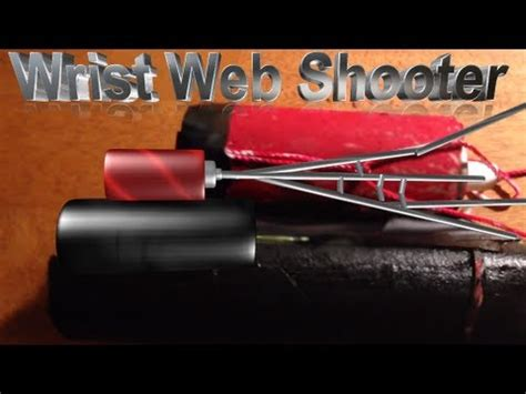 How To Make A Paper Web Shooter - how to make a wrist web shooter