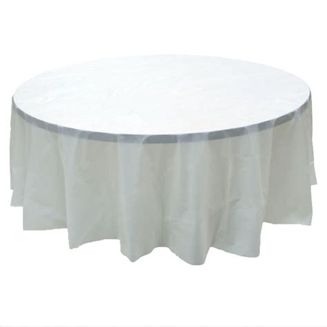 round clear plastic table covers 2 clear plastic round tablecloths 84 quot diameter table cover