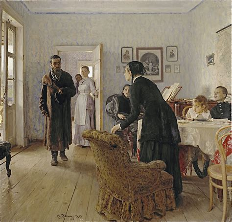 the unexpected visitor file ilya repin unexpected visitors jpg wikimedia commons