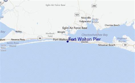 ft walton florida map fort walton pier surf forecast and surf reports florida