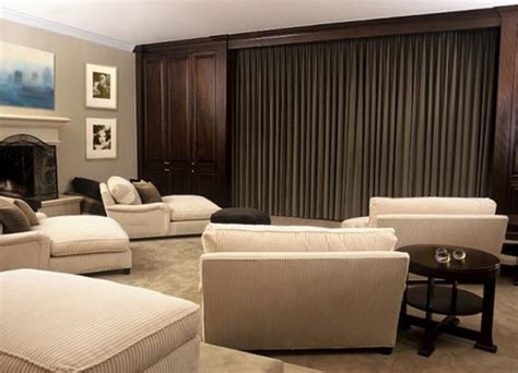 design home theater furniture 15 cool and minimalist home theater design with sofa