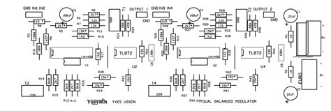 ring modulator circuit wiring diagrams wiring diagrams