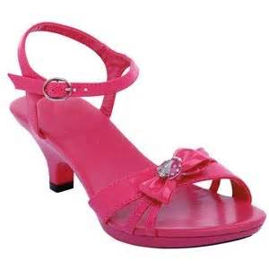 Girls high heel shoes kids high heels fancy girls pageant shoes