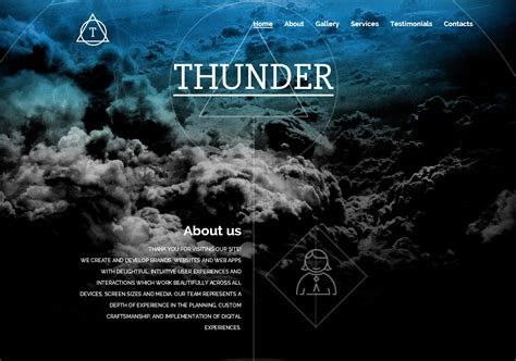 30 of the top most beautiful html templates ewebdesign