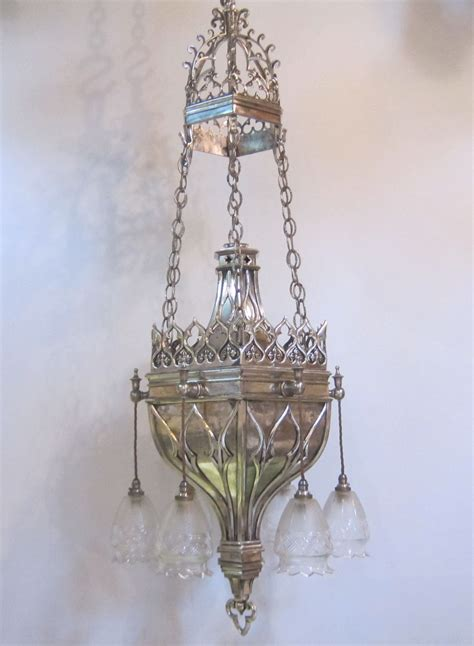 large gothic ceiling light exeter antique lighting company