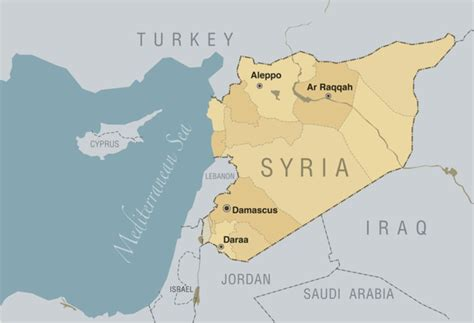 map of syria and surrounding countries heartbreak in syria arts sciences magazine