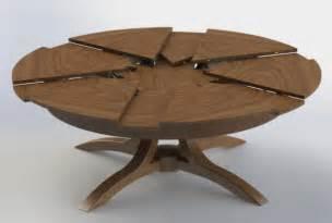 table ronde design table ronde extensible design