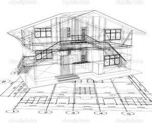 blueprint for houses 12 vector architecture building design images green